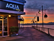 Dining Room at AQUA by El Gaucho, Seattle, WA