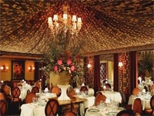 Dining room at Fleur de Lys, San Francisco, CA