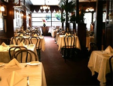 Dining room at John's Grill, San Francisco, CA