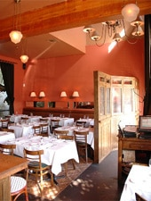 Dining Room at Le Charm, San Francisco, CA