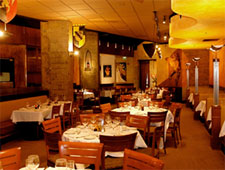 Dining room at Palio d'Asti, San Francisco, CA