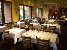 Dining room at Oliveto, Oakland, CA