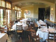 Dining room at Viognier, San Mateo, CA