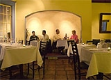Dining room at A Cote, Oakland, CA