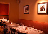 Dining room at Sociale, San Francisco, CA