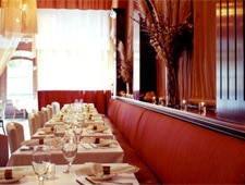 Dining room at Millennium Restaurant, San Francisco, CA