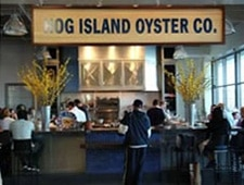 Dining room at Hog Island Oyster Co., San Francisco, CA