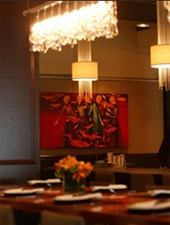 Dining Room at Tamarine, Palo Alto, CA