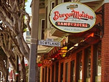 Dining Room at BurgerMeister, San Francisco, CA