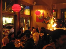 Dining room at Garcon, San Francisco, CA