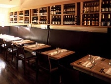 Dining Room at Terzo, San Francisco, CA