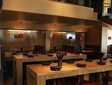 Dining room at O Izakaya Lounge, San Francisco, CA