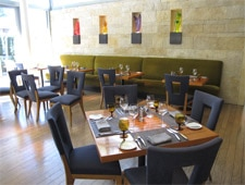 Dining Room at Quattro Restaurant & Bar, East Palo Alto, CA
