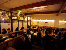 Dining room at Commonwealth, San Francisco, CA