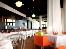 Dining Room at Il Lido, Singapore,