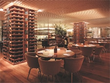 Dining room at Straits Kitchen, Singapore, singapore