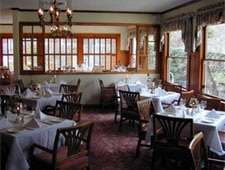 Dining Room at La Foret, San Jose, CA
