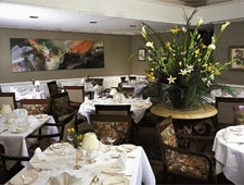 Dining Room at Le Papillon, San Jose, CA