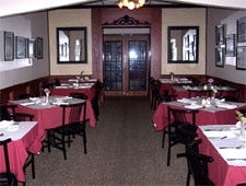 Dining room at Gian-Tony's, St. Louis, MO