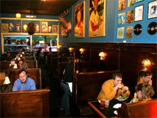 Dining Room at Blueberry Hill, University City, MO