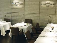 Dining room at Arzak, San Sebastian, spain