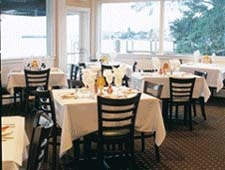 Dining room at Pattigeorge's, Longboat Key, FL