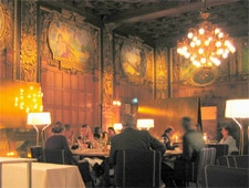 Dining room at Operakallaren, Stockholm, sweden