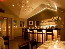 Dining room at Ristra, Santa Fe, NM