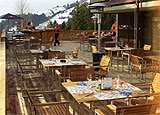 THIS RESTAURANT IS CLOSED The Deck, Saanenwald Gstaad, switzerland