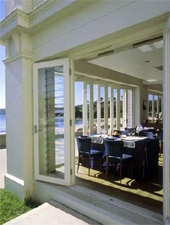 Dining room at The Bathers' Pavilion, Sydney, australia