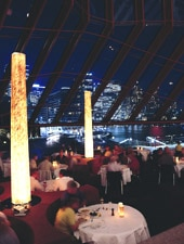 Dining room at Guillaume at Bennelong , Sydney, australia