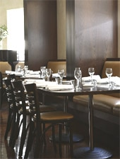 Dining room at Civic Bistro, Sydney, australia