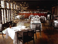 Dining room at Flying Fish, Sydney, australia