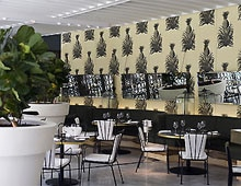 Dining room at Garden Court Restaurant, Sydney, australia