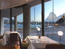 Dining room at Aria, Sydney, australia