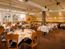 Dining room at Wolfdale's, Tahoe City, CA