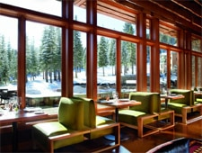 Dining room at Manzanita, Truckee, CA