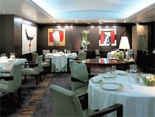 Dining room at L'Osier, Tokyo, japan