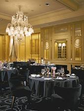 Dining room at Joël Robuchon Restaurant, Tokyo, japan