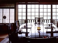 Dining room at Gora Kadan, Gora, japan