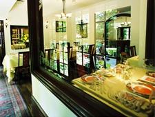 Dining room at Chez Matsuo, Tokyo, japan