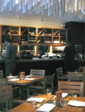 Dining room at Cava, Toronto, canada