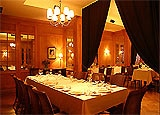 Dining room at Didier, Toronto, canada