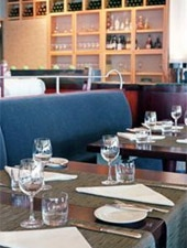 Dining room at Canoe Restaurant & Bar, Toronto, canada