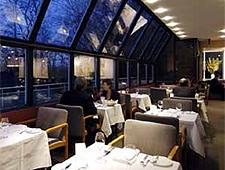 Dining room at Scaramouche, Toronto, canada