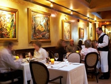 Dining room at Chiado, Toronto, canada