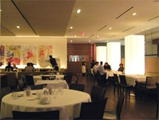 Dining room at Nota Bene, Toronto, canada