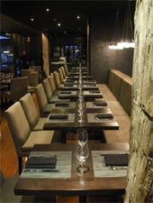Dining Room at Earth, Toronto, ON