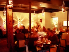 Dining room at Vij's, Vancouver, canada