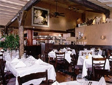 Dining room at Trattoria di Umberto, Whistler, canada